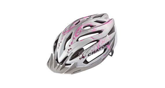 Cratoni C-Air Woman pearlwhite-pink glossy